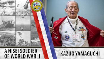 Kazuo Yamaguchi is a Japanese-American Veteran who served during WWII.