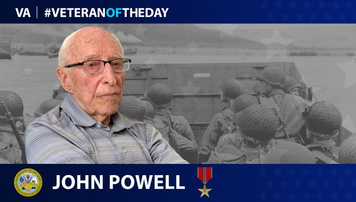 Army Veteran John Powell is today's Veteran of the Day.