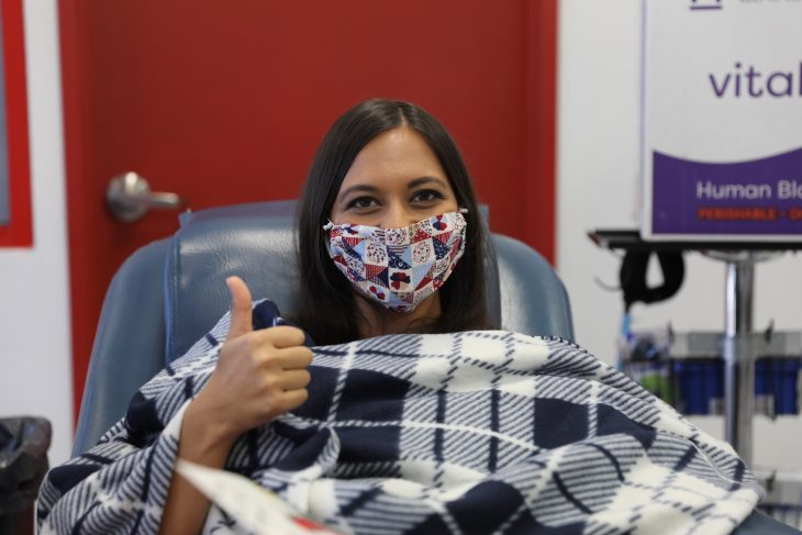 Dr. Parisa Khan is a clinical pharmacist who specializes in infectious diseases at the VA Southern Nevada Healthcare System. As a recovered COVID-19 patient, she donated her convalescent plasma to help others struggling with the illness.