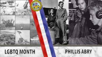 Phillis Abry worked in the WAAC.