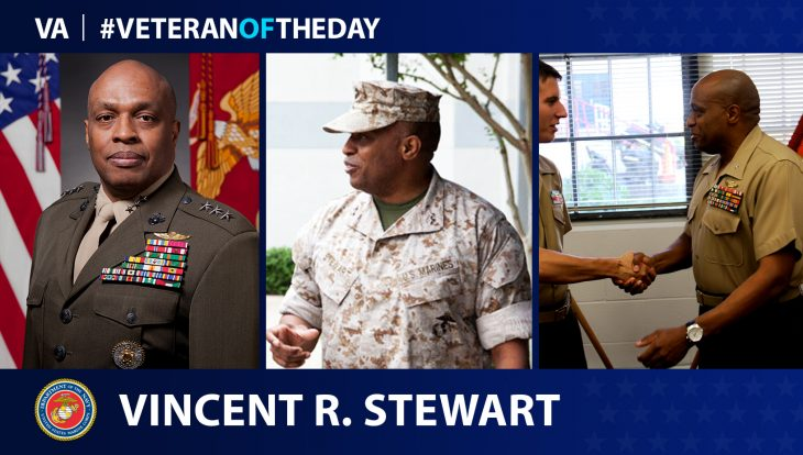Marine Veteran Vincent R. Stewart is today's Veteran of the Day.