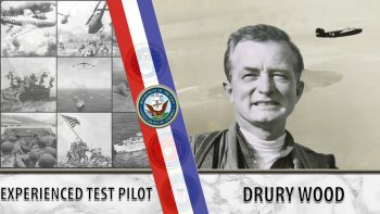 Test pilot Drury Wood