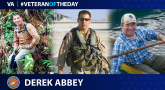 Marine Corps Veteran Derek Abbey is today's Veteran of the Day.