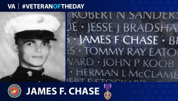 Marine Corps Veteran James Francis Chase is today's Veteran of the Day.