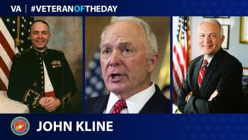 Marine Corps Veteran John Kline is today's Veteran of the Day.