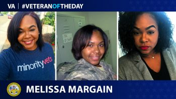 Army Veteran Melissa Margain is today's Veteran of the Day.