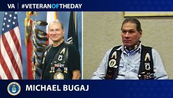 Air Force Veteran Michael Joseph Bugaj is today's Veteran of the Day.