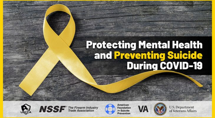 Protecting Mental Health and Suicide Prevention during COVID-19 banner