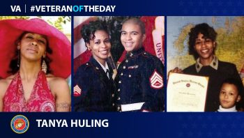 Marine Corps Veteran Tanya Huling is today's Veteran of the Day.