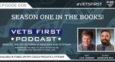 In this short wrap up episode, hosts Levi Sowers and Brandon Rea look back on the first season of the Vets First Podcast, including topics and guests.