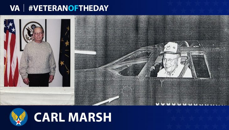 Army Air Forces Veteran Carl Marsh is today's Veteran of the Day.