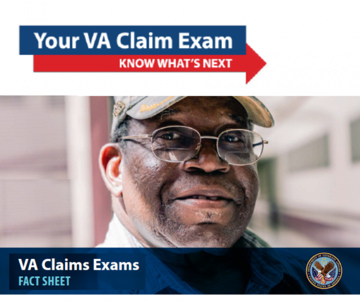 VA resumes in-person C&P exams at select locations.