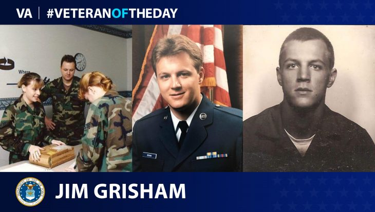 Air Force Veteran James Grisham II is today's Veteran of the Day.