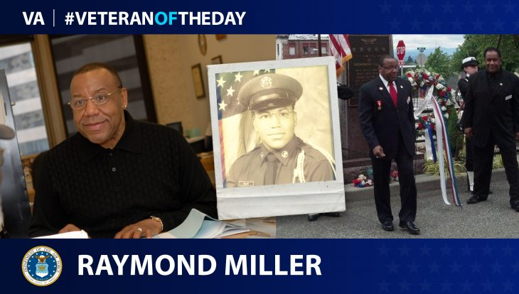 Air Force Veteran Raymond Miller is today's Veteran of the Day.
