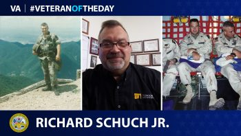 Army Veteran Richard Schuch is today's Veteran of the Day.