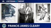 Air Force Veteran Francis James Cleary is today's Veteran of the Day.