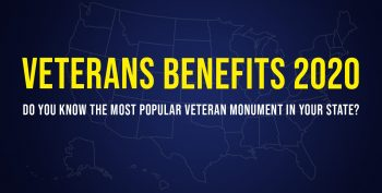 VA worked with state representatives to compile a list of the most popular state Veteran monuments.