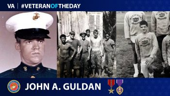 Marine Corps Veteran John Guldan is today's Veteran of the Day.