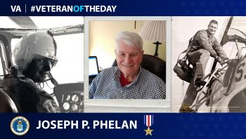 Air Force Veteran Joseph Phelan is today's Veteran of the Day.