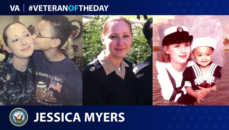 Navy Veteran Jessica Myers is today's Veteran of the Day.