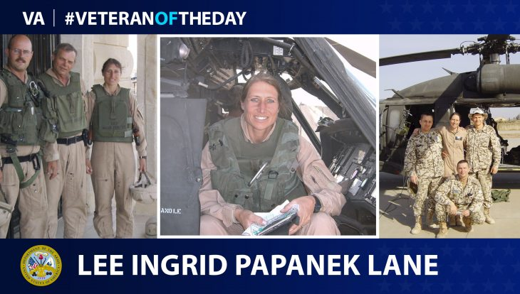 Army Veteran Lee Lane is today's Veteran of the Day.