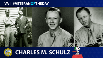 Army Veteran Charles Schulz is today's Veteran of the Day.