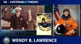 Navy Veteran Wendy B. Lawrence is today's Veteran of the Day.