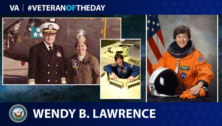 Veteran of the Day...Wendy B. Lawrence