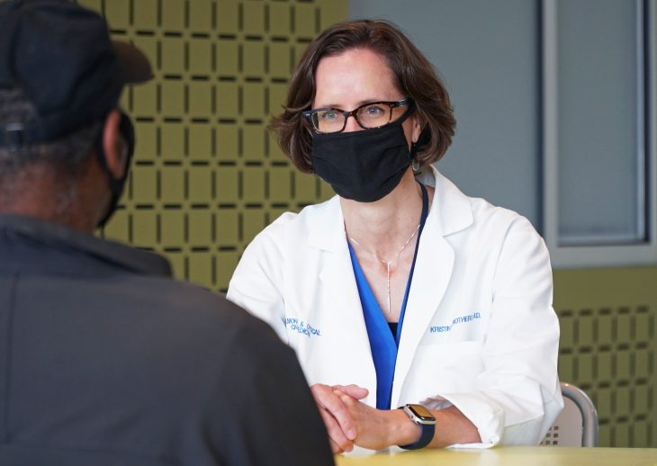 Dr. Kristina Crothers of VA Puget Sound is leading the collaboratory's investigation into steroids, which provide relief for inflamed areas of the body. Steroids are one of the three classes of drugs the COVID-19 collaboratory is examining.