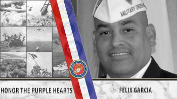 Marine Corps Veteran Felix Garcia and the MOPH.
