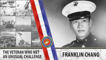 Franklin Chang AVS, Marine Veteran served in Korean War.