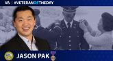 Army Veteran Jason Pak is today's Veteran of the Day.