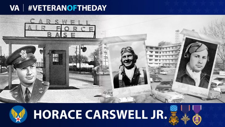 Army Air Forces Veteran Horace Carswell Jr. is today's Veteran of the Day.