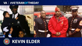 Marine Corps Veteran Kevin Elder is today's Veteran of the Day.