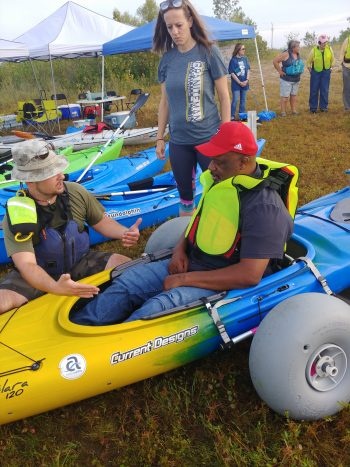 Veteran Michael Whittaker has MS, but does not let that stop him from having an active life and participating in adaptive sports.