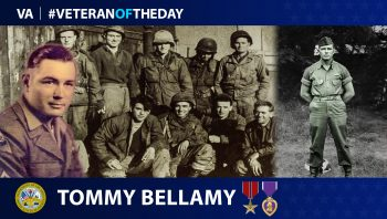 Army Veteran Tommy Bellamy is today's Veteran of the Day.