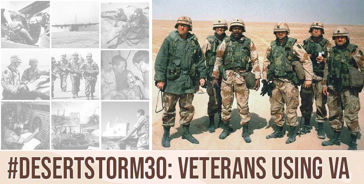 During Operations Desert Shield and Desert Storm, over 695,000 service members deployed, while 2.2 million were in service during the war. As of 2019, there were nearly 5 million living Veterans, of whom 2.7 million served exclusively during the Pre-9/11 time period. Here's how the access VA.