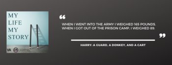 WWII Veteran and POW, Harry Johnson, on My Life, My Story podcast.