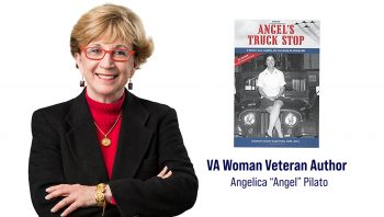 "November's author is Air Force Veteran Angelica ""Angel"" Pilato, who served from 1967 to 1972 on active duty and the Reserve from 1974-1991."