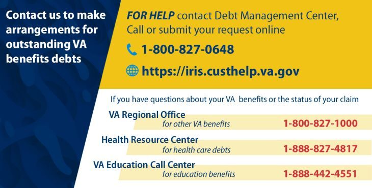 Debt Management Center contact card