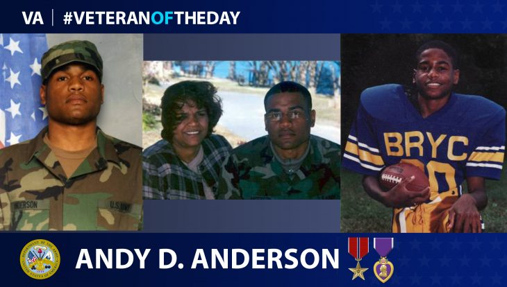 Army Veteran Andy D. Anderson is today's Veteran of the Day.
