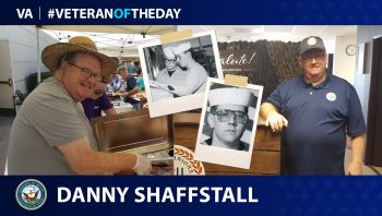 Navy Veteran Danny Shaffstall is today's Veteran of the Day.