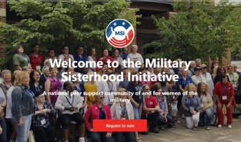 military sisterhood initiative