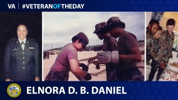 Army Veteran Elnora D. B. Daniel is today's Veteran of the Day.