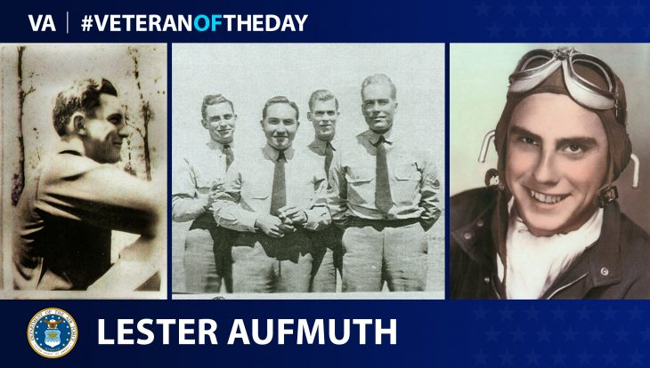 Air Force Veteran Lester H. Aufmuth is today's Veteran of the day.