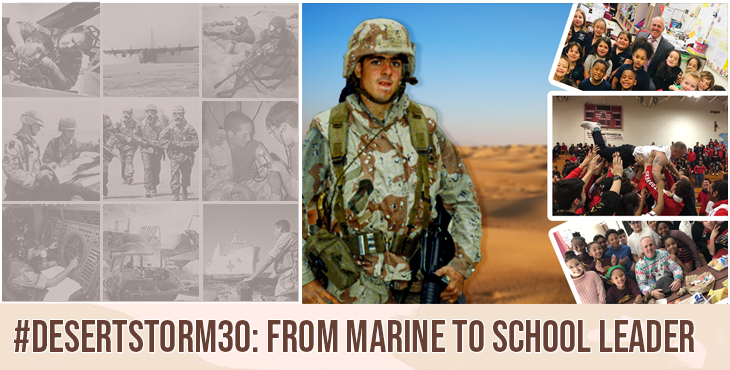 Marine Veteran and Desert Storm Veteran Matt Malone went from self-described troubled youth to superintendent of Fall River Public Schools in Massachusetts.