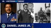 Air Force Veteran Daniel James Jr. is today's Veteran of the day.