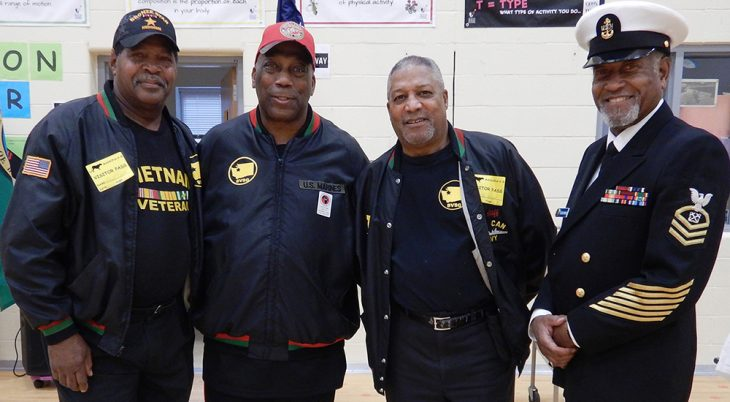 Four African American Veterans