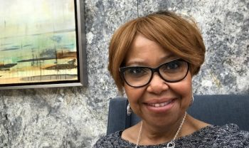 Dr. Sabrina Clark is the director of VA's Office of Voluntary Services, which facilitates the ability to volunteer for activities on behalf of Veterans, caregivers, and families.