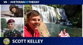 Army Veteran Scott Kelley is today's Veteran of the day.